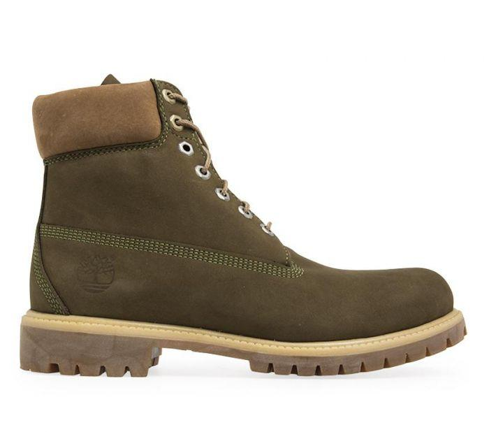 Details about Timberland Womens Boots Dark Olive 6 Inch Premium Waterbuck Lace Up Nubuck