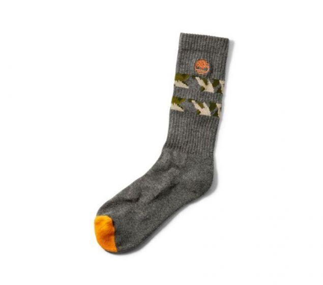 Men's Camo Strip Crew Socks